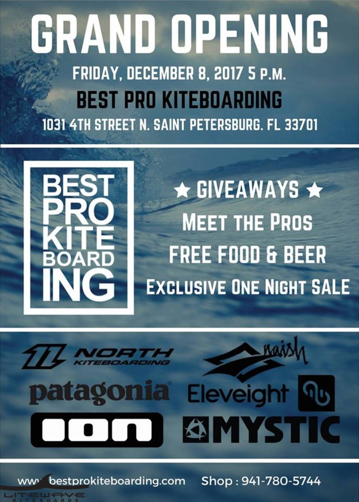 Best Pro Kiteboarding Grand Opening- St. Pete!